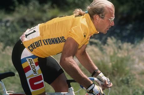 Laurent Fignon při Tour de France 1989