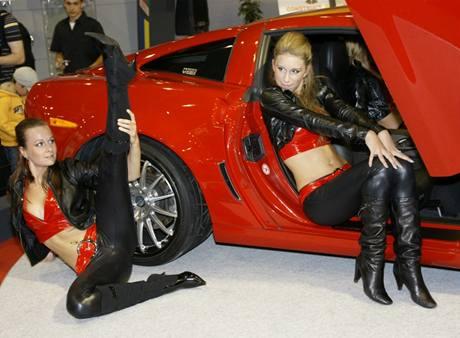 Innotech Corvette měl premiéru na brněnském autosalonu