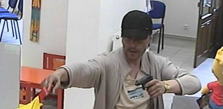 Loupež v pražské bance