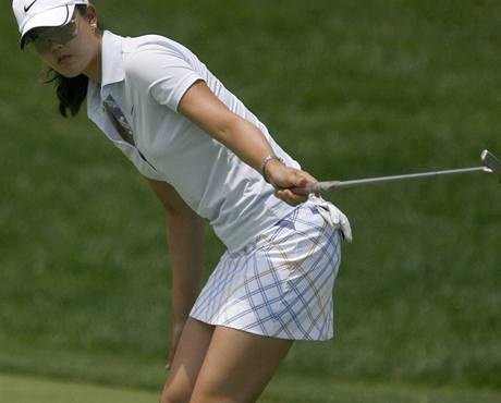 Michelle Wieová na US Open 2009.