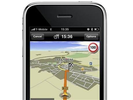 Navigace Navigon pro Apple iPhone