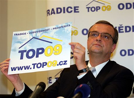 TOP 09 může volit jen příživník, nebo ten, kdo nečetl její program!