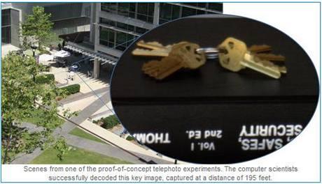Kopírování klíčů z fotografie