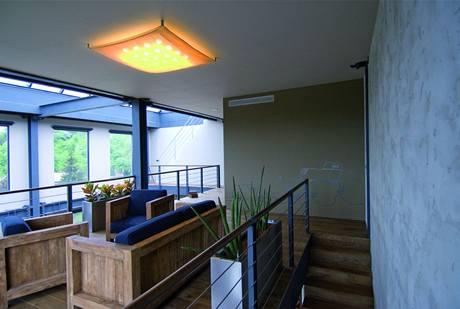 Interiér vítězného loftu