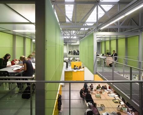 Atrium Stavební fakulty ČVUT