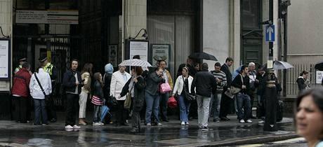 Stávka v londýnském metru zkomplikovala dopravu ve městě. 11.6.2009