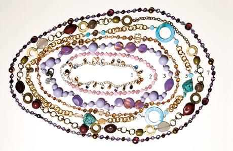 Módní šperky