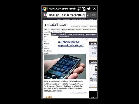 Fennec - mobilní verze prohlížeče Firefox