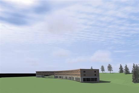 Vítězný návrh rekonstrukce hotelu u vodní nádrže Souš