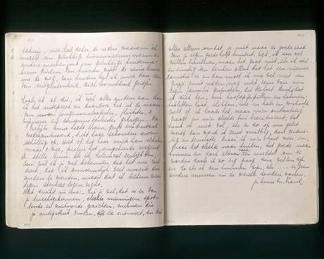 Poslední zápisky v deníku Anne Frankové