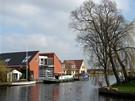 Plavba po holandských grachtech - křižovatka