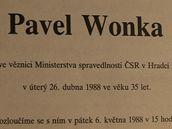 Abeceda komunistických zločinů - Parte Pavla Wonky