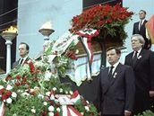 Imre Nagy, pohřeb. Budapešť 16. června 1989