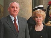 Michail a Raisa Gorbačovovi