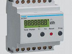 Digitální elektroměr do DIN lišty