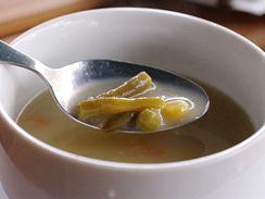 Zeleninová polévka v Laguně