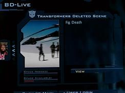 Transformers - BD-Live