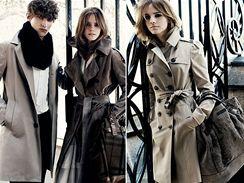Emma Watsonová pro Burberry