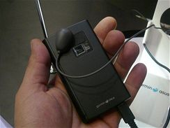Garmin Nuvifone M20 na výstavě CommunicAsia 2009