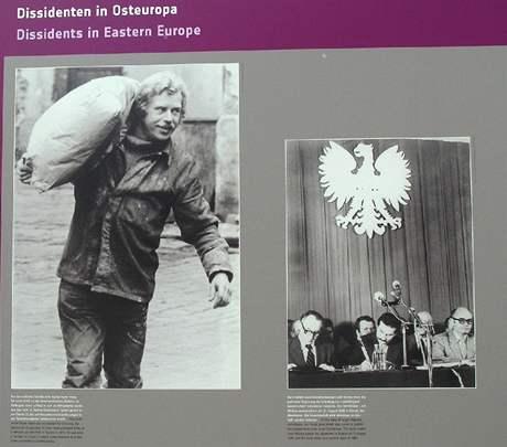 Berlín. I informace o Václavu Havlovi jsou zastoupeny informace na výstavě v Berlíně.