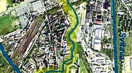 SVITAVSKÝ NÁHON. Návrh revitalizace Staré Ponávky