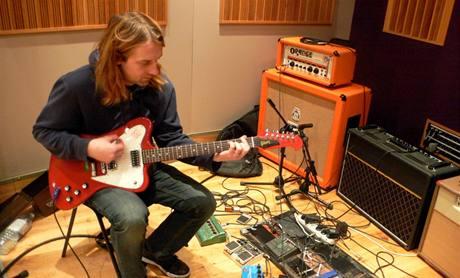 Vypsaná fixa nahrávala v Londýně nové album Klenot