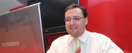 Jiří Kadrnka při on-line rozhovoru.