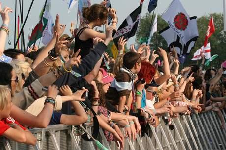 Z festivalu Glastonbury