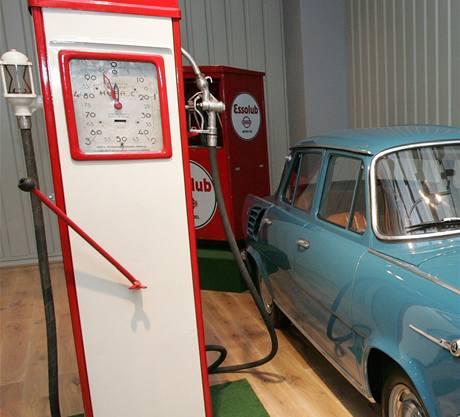 Muzeum veteránů v Olomouci.