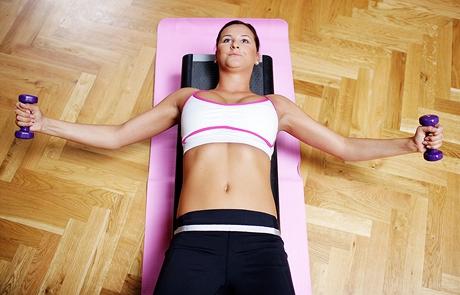 Cvičení - prsní svaly