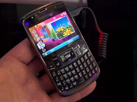 Samsung Omnia Pro (CommunicAsia 09)