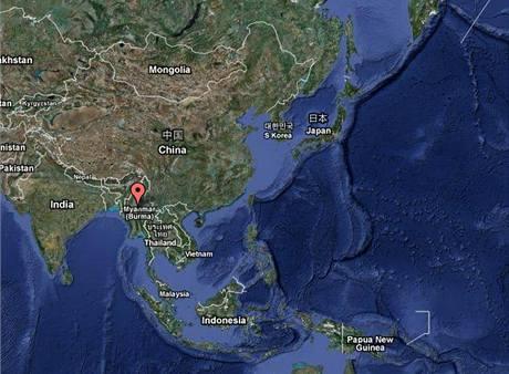 Mapa - KLDR - Barma