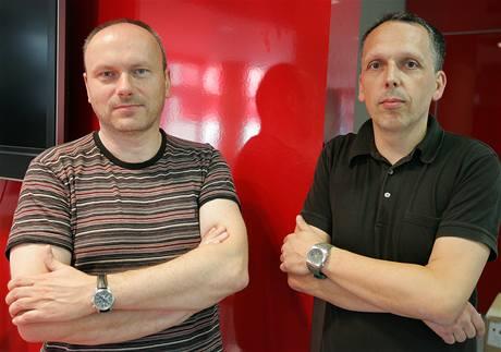 Architekti Ladislav Kuba a Tomáš Pilař