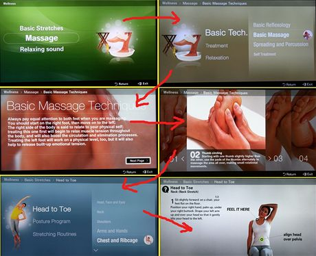 Massage&Fitness - Samsung Content Library