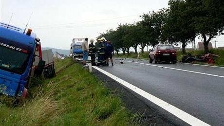 Tragická nehoda na Domažlicku, při které zemřela mladá řidička.