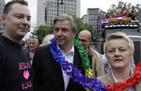 Demonstrace za práva homosexuálů v Berlíně