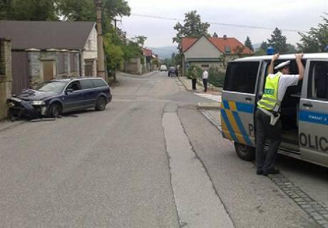Tragická nehoda v Černošicích u Prahy