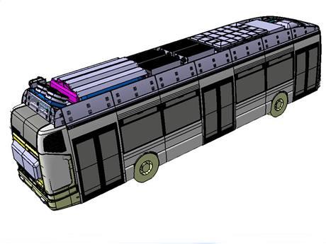 Český autobus na vodíkový pohon