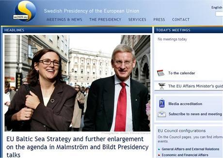 Stránky švédského předsednictví EU