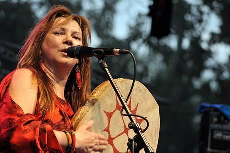 Z festivalu Respect 2009 - Mari Boine