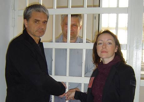 Setkání k filmu Kajínek - T.Vilhelmová a K.Lavronenko