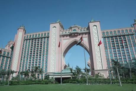 Hotel Atlantis The Palm na palmovém pobřeží