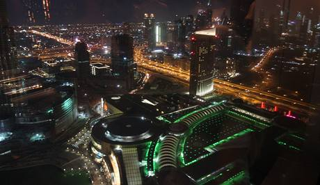 Pohled na Dubaj z 63. patra