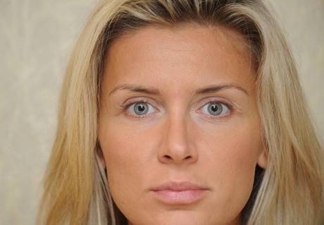 Modelka a vítězka Miss ČR 1996 Petra Minářová