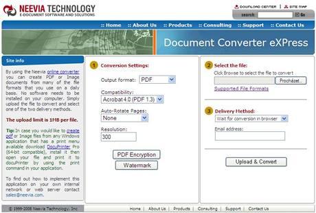 Document Converter eXPress