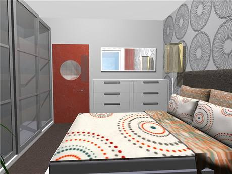 Dispozice panelového bytu 2 1