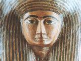 Maska mumie Egypťanky Hereret