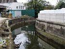 PONÁVKA. Jeden z návrhů počítá s přestavbou styrých textilních barvíren na plovárnu a městské lázně