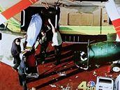 Televizní záběry Jacksonova mrtvého těla (25. června 2009)
