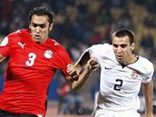 Egypt - USA: Ahmed Al Muhammadi (vlevo) a Jonathan Bornstein
